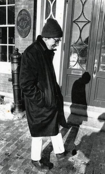 Robert Dunn was the poet laureate of Portsmouth, N.H., from 1999 to 2001.